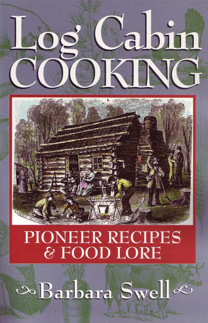 Log Cabin Cooking Book Damaged Second Native Ground