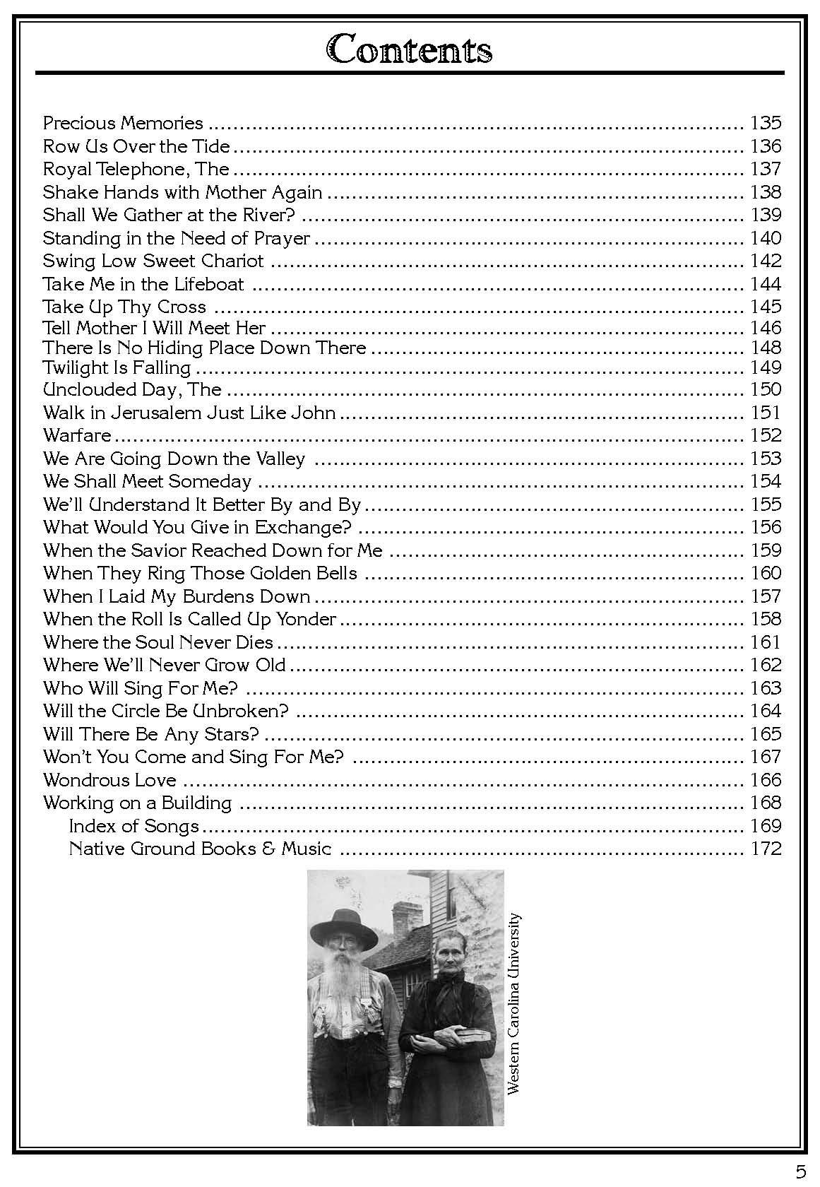 Gospel Hymn Book