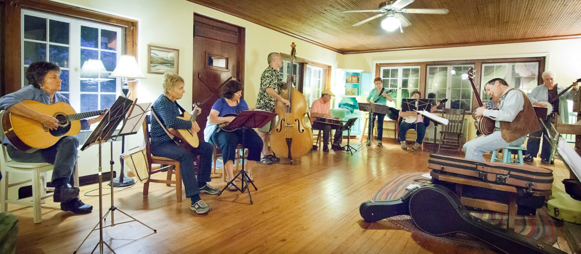 The Log Cabin Band, photo by Michelle Williams
